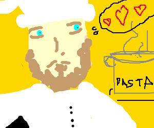 Chef will fall in love