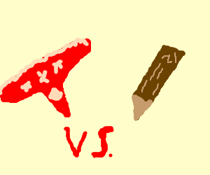 Red Thong vs. Wooden Stake