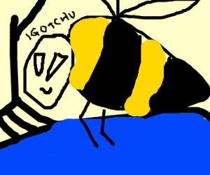 Giant wasp shoulder pad