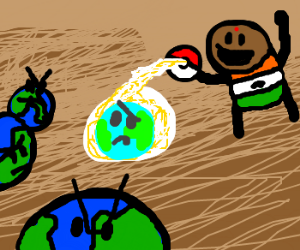 indian poketrainer capture a wild earth