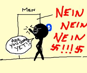Pooping Nazi