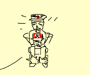 nazi with constipation