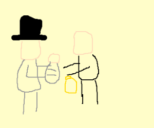 Amish guy sells his baby