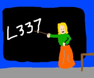 Lesson on English > L337