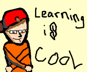 teacher shows how to be a cool kid