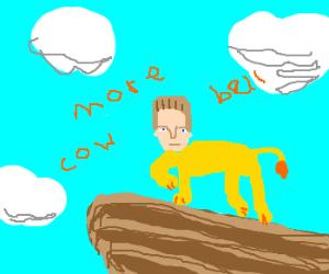 Christopher Walken in the Lion King