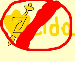 The Legend of Zelda is forbidden