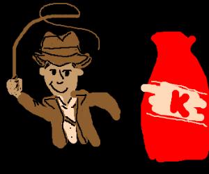 Indiana Jones and the Pillar of Ketchup