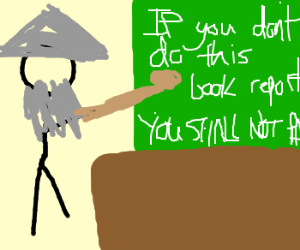 Gandalf teaches English