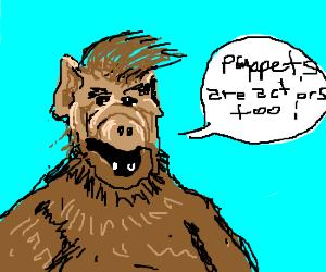 Alf goes to AEA meeting