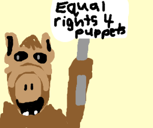 ALF demands equal rights for puppets