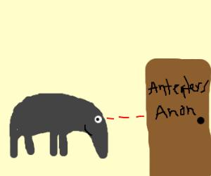 X-anteater mind controlling the door