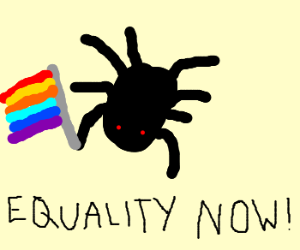 Spider In Support of Gay Marriage