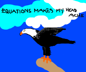 Eagle becomes headache from Equations.