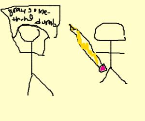 A literal Drawception moment