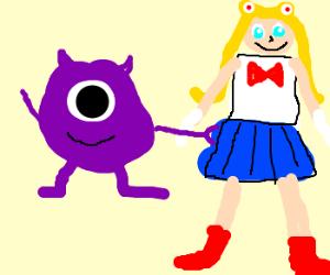 PurpleMikeWazowskigoosesSailorMoon