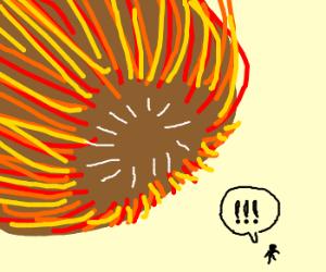giant comet
