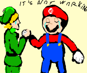 mario and link end their relationship