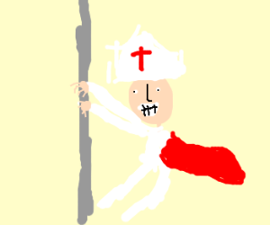 the pope pole dancing