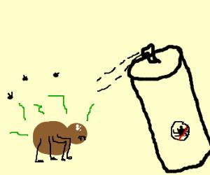 Smelly Spidey Stay-Away Spray