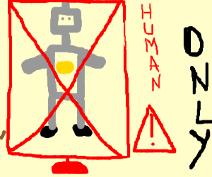 Robots NOT ALLOWED IN