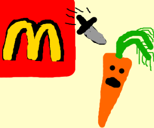 Carrot threatened by McDonalds
