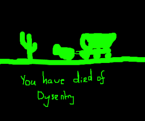 Dying of Desentery in Oregon Trail