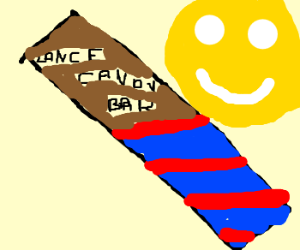 Lance candy bar makes you smile