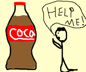 Help me, Coca-Cola, you're my only hope.