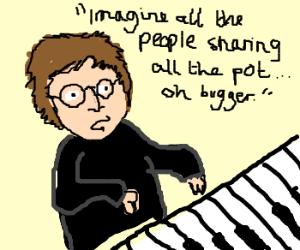 John Lennon, freudian slip, imagine