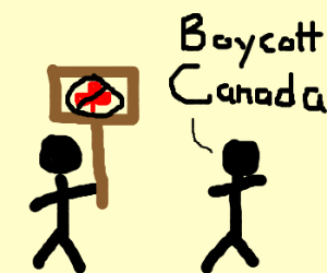 Anti-Canadian Protest