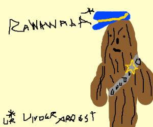 chewbacca policeofficer
