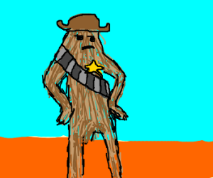 Chewbacca is the new sheriff in town