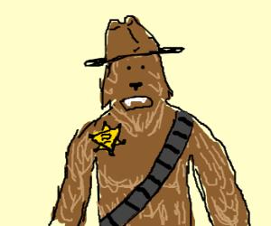 Sheriff Chewbacca