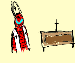 spiderman becomes a priest