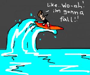 surfer fail