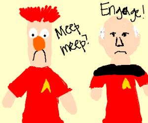 Beaker joins Starfleet