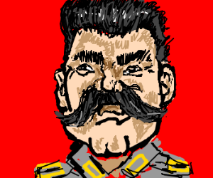 Stalin, our great leader.