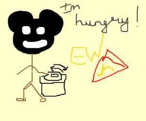 deadmau5 is hungry, but hates pizza