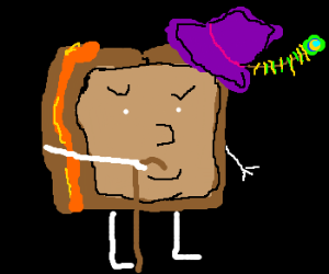 Cheese toastie is a pimp