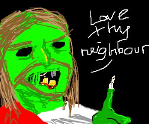 Zombie Jesus lives again
