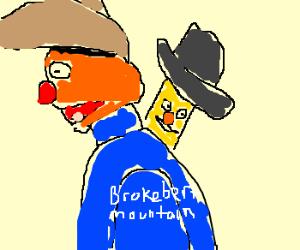 Bert and Ernie go bad