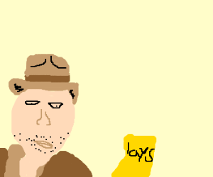 Indiana Jones & The Greasy Bag Of Chips