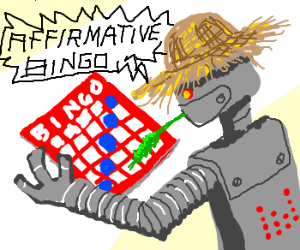 Farmer Bot plays BINGO and wins!