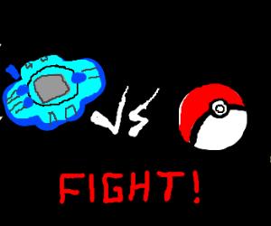 digivice vs pokeball