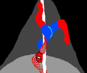 spidermans gay dance