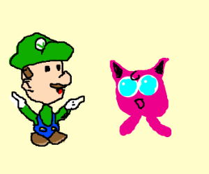 Louigy loves dancing with jigglypuff