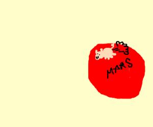 Pigfarts is on Mars