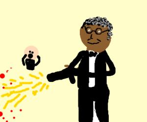 James Earl Jones causes chaos
