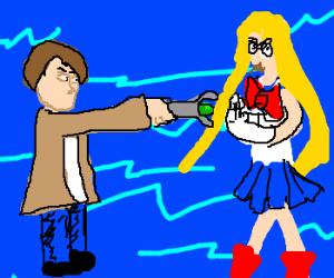 Dr Who vs Sailor Moon deathmatch